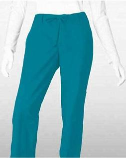 Barco Uniforms Women's ICU Scrub Pants Medium Teal Quartz 3
