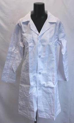 Natural Uniforms Unisex Belted Back 40 inch Lab Coat SD8 Whi