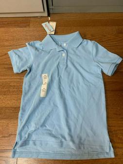 Unisex Kids Uniform Light Blue Collar Shirt Bundle