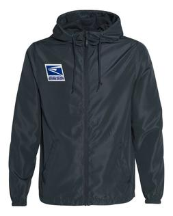 USPS Postal Service Rain Jacket/ Windbreaker with Hood