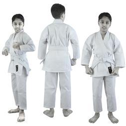 VERUS white kid karate suit karate uniform kids Adult TKD Gi