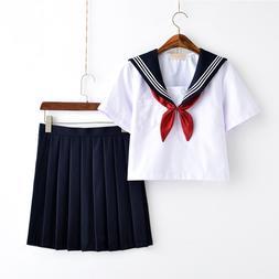 White Schoolgirl <font><b>Uniform</b></font> Japanese Class