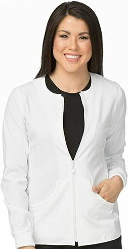 MED COUTURE Wns's Zip Front Nursing Uniform Warm up Jackets