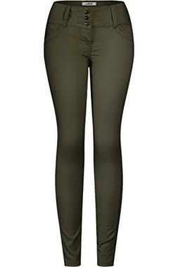 women s 3 button stretchy uniform pants