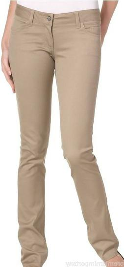 Women's/Juniors Premium Skinny Stretch Uniform School Pants
