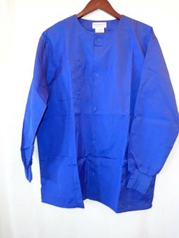 Natural Uniforms Women's large long sleeve shirt  blue large
