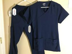 WOMEN'S MEDICAL HOSPITAL UNIFORM NURSING Scrub Set 4-WAY STR