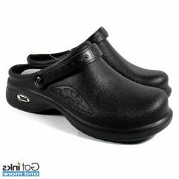 Womens Medical Nursing Ultralite Clogs w/ Heel Strap Non-Sli