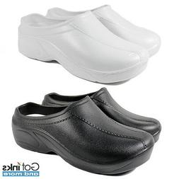 Womens Medical Nursing Ultralite Non-Slip Strapless Clogs Li