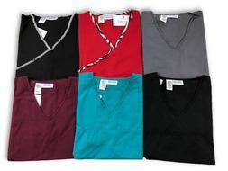 Women's Medical Nursing Uniform Solid Printed Fashion Scrubs