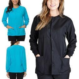 Women's Natural Uniforms 3-Pocket Medical Hospital Nursing W