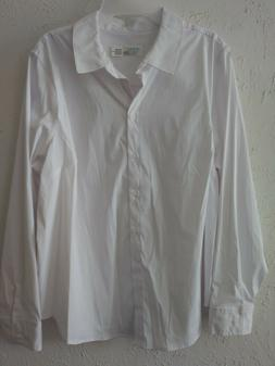Women's plus size 2x 20 white button down shirt or career un