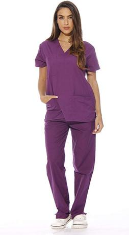 Just Love Women's Scrub Sets Six Pocket Medical Scrubs