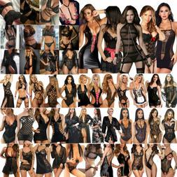 Women's Sexy Lingerie Glamour Babydoll Bodysuit Badycon Bra