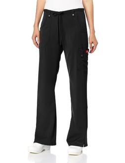 Dickies Women's Xtreme Stretch Fit Drawstring Flare Leg Pant