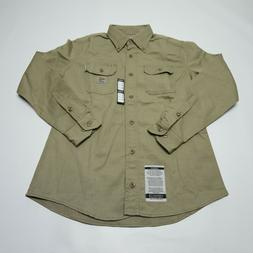 Carhartt Womens Flame Resistant FR Long Sleeve Button Up Shi