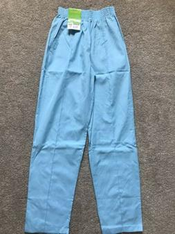 Landau Womens Medical Uniform Scrub Pants Elastic Waist Ligh