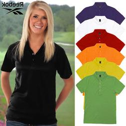 Reebok Women's Platinum Cotton Pique 7316 Polo Shirt Unifo