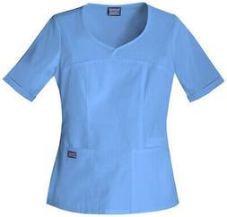WorkWear 4746 Women's V-Neck Top Medical Uniforms Scrubs