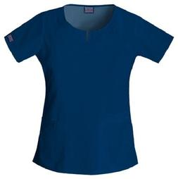 Cherokee Workwear Scrub Short Sleeve Round Neck 4824 NAVW Na