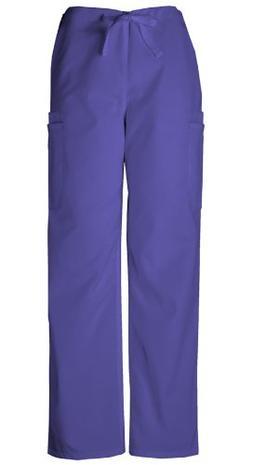 Cherokee Workwear Scrubs Men's Cargo Pant, Grape, 4X-Large