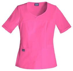 Cherokee Workwear Scrubs Women's V Neck Scrub Top 4746 Shock