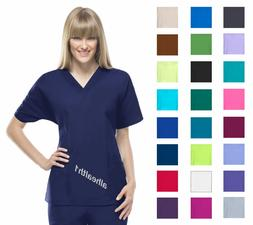 Cherokee Workwear V-Neck Womens Nurse Scrub Top. Style 4700.