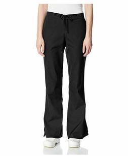 Cherokee Workwear Women's Flare Leg Drawstring Scrub Pant Bl