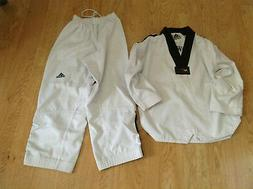 Adidas World Taekwondo Federation Black Belt Karate Youth Un