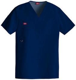 Dickies Xtreme Stretch 81910 Men's V-Neck Top Medical Unifor