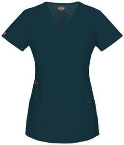 Dickies Xtreme Stretch 85956 Women's Mock Wrap Top Medical U